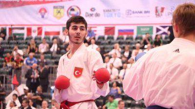 Karate de Dünya ve Balkan şampiyonumuz