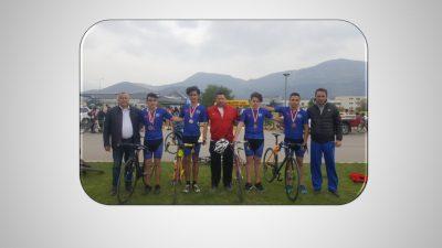 2017-2018 Bisiklet Yarışmasında İl Birincisi MOSTEM
