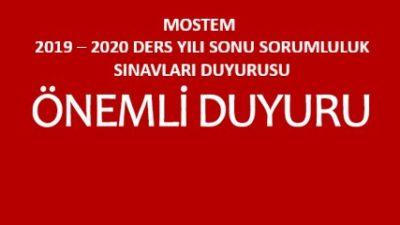 ÖZEL MANİSA ORGANİZE SANAYİ BÖLGESİ MESLEKİ VE TEKNİK ANADOLU LİSESİ 2020 – 2021 DERS YILI BAŞI SORUMLULUK SINAVLARI KILAVUZUDUR